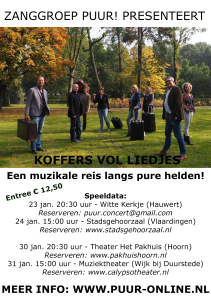 Flyer Puur! jan2016